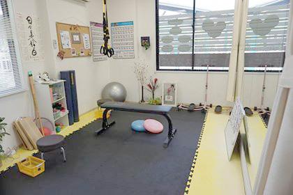 加圧トレーニングルーム内写真